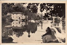 81 - REALMONT  - Gassalès Plage Avec Un Pêcheur - Realmont