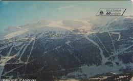 TARJETA TELEFONICA DE ANDORRA. (063) - Andorra
