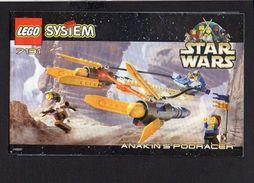 Notice Plan LEGO System N° 7131 De 1999 / Star Wars - Lego System
