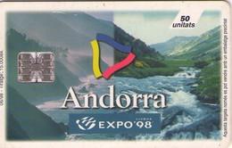 TARJETA TELEFONICA DE ANDORRA. (083) - Andorra