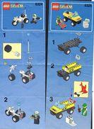 Notice Plan LEGO System ( 3 ) N° 6324 6325 Et 6422 - Lego System