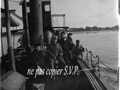 33 ARCACHON NEGATIF Plaque De Verre PHOTO BATEAU LE COURRIER DU CAP Vers 1918  PAS CARTE POSTALE - Arcachon