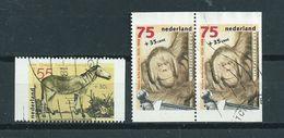 1988 Netherlands Complete Set Artis Zoo,animals,dieren,tiere,booklet Stamps Used/gebruikt/oblitere - Period 1980-... (Beatrix)