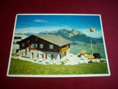 KURHAUS BASCHALVA  WANGS PIZOL 1050m INH FRAU ACKERMANN WACHTER  LE 8 07 1966 - Switzerland