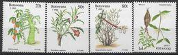 1995 BOTSWANA 733-36** Flore - Botswana (1966-...)