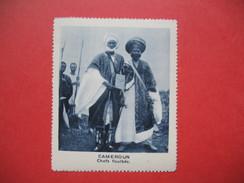 Chromo Image Vignette Cameroun - Chef Foulbés  -  6.5 X 7.5 Cm - Chromos