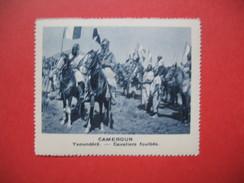 Chromo Image Vignette Cameroun - Yaoundéré - Cavaliers Foulbés -  6.5 X 7.5 Cm - Chromos