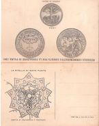 Cartolina Postale  MEDAGLIA COMMEMORATIVA FONDAZIONE PALMA 1593  D'ANNUNZIO - Eventi