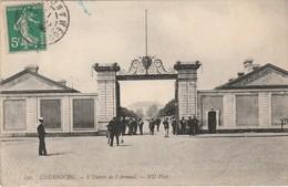 50 Cherbourg L'entrée De L'arsenal TBE - Cherbourg