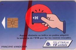 TARJETA TELEFONICA DE ANDORRA. (077) NUEVA. - Andorra