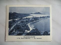 Chromo Image Vignette  Guadeloupe - L'Ile Saint-Martin - Le Haricot  6.5 X 7.5 Cm - Chromos