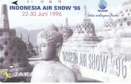 TARJETA DE INDONESIA AIR SHOW'96 EN JAKARTA - Indonesia