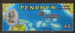 Penrhyn 1975 Yvertn° 64 (°) Oblitéré Used Cote 10,00 Euro Kia Orana - Penrhyn