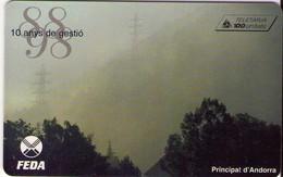 TARJETA TELEFONICA DE ANDORRA. (062) - Andorra