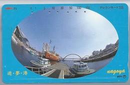 JP.- Japan, Telefoonkaart. Telecarte Japon. NAGOIJA - Boten