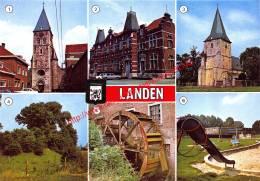 Sint-Gertrudiskerk - Gemeentehuis - Landen - Landen