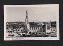 LOURENÇO MARQUES MOZAMBIQUE CATHEDRAL PC 1950 Years MOÇAMBIQUE MAPUTO AFRICA XX - Postcards