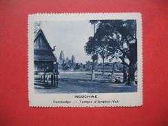 Chromo Image Vignette  Indochine - Cambodge - Temple D'Angkor-Vat  -  6.5 X 7.5 Cm - Chromos