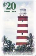 TARJETA DE BAHAMAS DE $20 DE UN FARO - LIGHTHOUSE - Bahamas