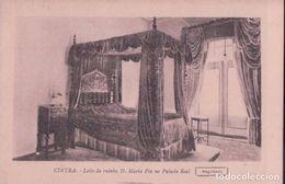 POSTAL PORTUGAL - CINTRA - LEITO DA RAINHA D MARIA PIA NO PALACIO REAL - ALBERTO MALVA - Portugal