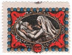 (I.B) France Cinderella : Delandre Great War Charity Stamp (Nurse) - Europe (Other)
