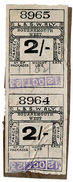 (I.B) London & South Western Railway : Paid Parcel 4/- (Bournemouth West) - 1840-1901 (Victoria)