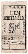 (I.B) London Midland & Scottish Railway : Parcel 9d (Whitefield) - 1840-1901 (Victoria)