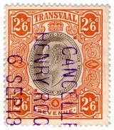 (I.B) Transvaal Revenue : Duty Stamp 2/6d (1906) - Afrique Du Sud (...-1961)
