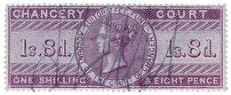 (I.B) QV Revenue : Chancery Court 1/8d (1857) - 1840-1901 (Victoria)