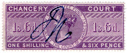 (I.B) QV Revenue : Chancery Court 1/6d (1857) - 1840-1901 (Victoria)
