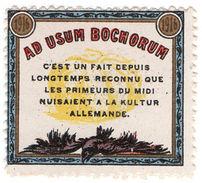 (I.B) France Cinderella : Delandre Great War Patriotic Stamp (Culture) - Europe (Other)