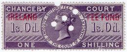 (I.B) QV Revenue : Ireland Chancery Fee Fund 1/- - 1840-1901 (Victoria)
