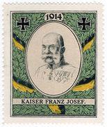(I.B-CK) Germany (Great War) Cinderella : Patriotic Stamp (Franz Josef) - Germany