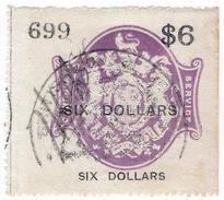 (I.B) QV Revenue : Consular Service $6 - 1840-1901 (Victoria)