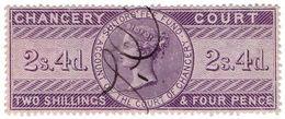 (I.B) QV Revenue : Chancery Court 2/4d (1857) - 1840-1901 (Victoria)