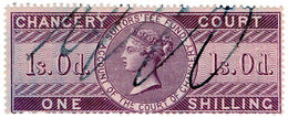 (I.B) QV Revenue : Chancery Court 1/- (1857) - 1840-1901 (Victoria)