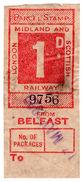 (I.B) London Midland & Scottish Railway : Parcel 1d (Belfast) - 1840-1901 (Victoria)