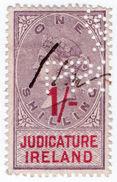 (I.B) QV Revenue : Judicature Ireland 1/- (1895) - 1840-1901 (Victoria)