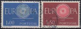 PORTUGAL 1960 Nº 879/80 USADO - 1910-... République