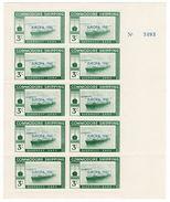 (I.B-JA) Cinderella Collection : Isle Of Sark Shipping 3/- (Europa 1961) - Unclassified