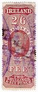 (I.B) QV Revenue : Ireland Registration Of Deeds 2/6d (1888) - 1840-1901 (Victoria)