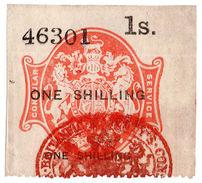 (I.B) QV Revenue : Consular Service 1/- - 1840-1901 (Victoria)
