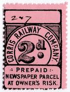 (I.B) Corris Railway Company : Newspaper Parcel 2d - 1840-1901 (Victoria)