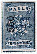 (I.B) Manchester, Sheffield & Lincolnshire Railway : Single Newspaper - 1840-1901 (Victoria)