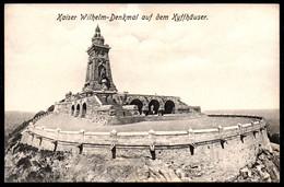 A9317 - Kyffhäuser - Denkmal Kaiser Wilhelm - C. Werneburg 342 TOP - Kelbra