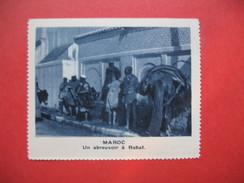 Chromo Image Vignette  Maroc - Un Abreuvoir à Rabat -   6.5 X 7.5 Cm - Chromos