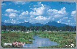 JP.- Japan, Telefoonkaart. Telecarte Japon. NTT - Landschappen