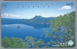 JP.- Japan, Telefoonkaart. Telecarte Japon. NTT. TELEPHONE CARD 105. HOKKAIDO. - Landschappen
