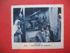 Chromo Image Vignette  Maroc - Fez - Marchands De Beignets -   6.5 X 7.5 Cm - Chromos