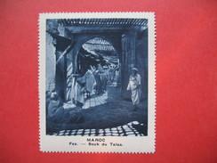 Chromo Image Vignette  Maroc - Fez - Souk Du Talaa -   6.5 X 7.5 Cm - Chromos